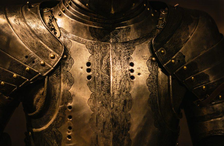 Armadura de um cavaleiro