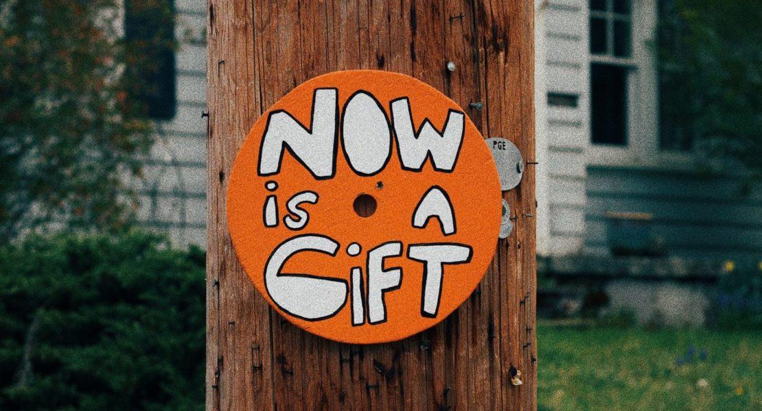 Agora é o momento para tudo. Sempre.